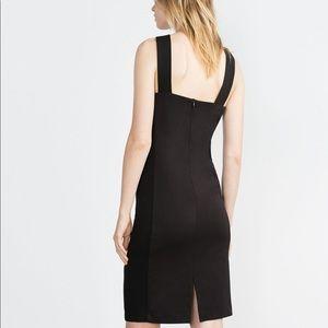 Zara Dresses - Zara W&B Collection Little Black Halter Dress